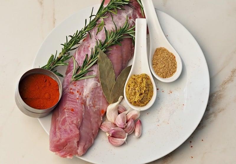 Rolled pork tenderloin