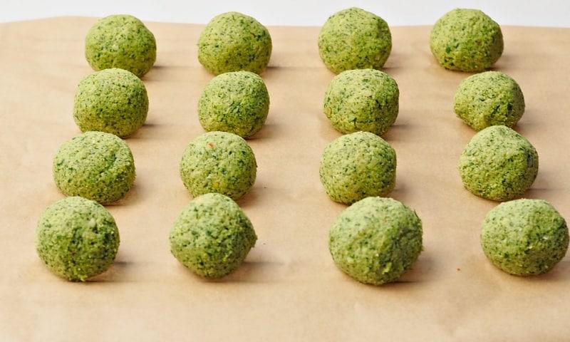 homemade falafel balls