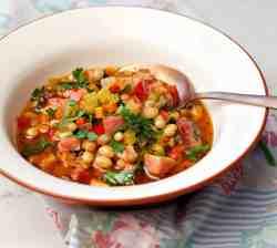 Instant Pot Ham and Beans Soup