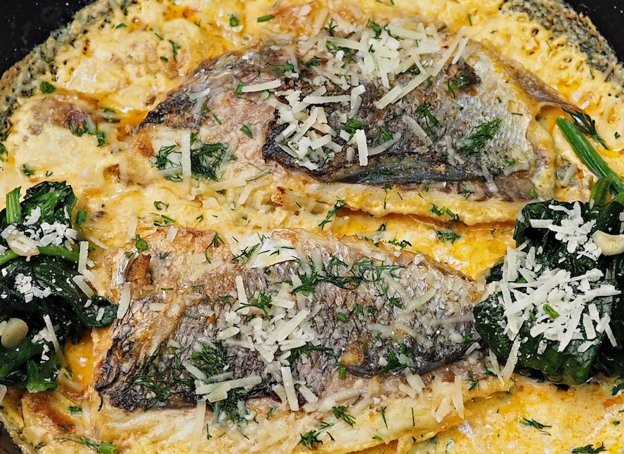 baked sea bream recipe
