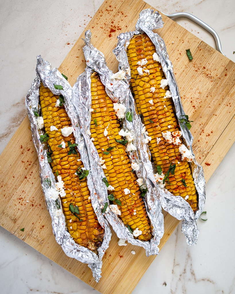 Baked Corn On The Cob