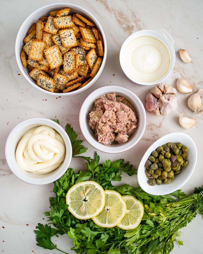 Tuna dip ingredients