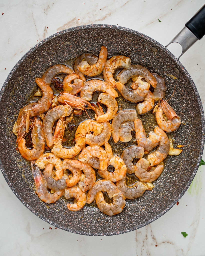 how to saute shrimps