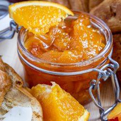 Traditional Peach Mandarin Jam
