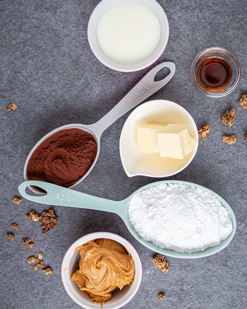 Peanut Butter Fudge Ingredients