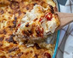 creamy cheese pasta casserole