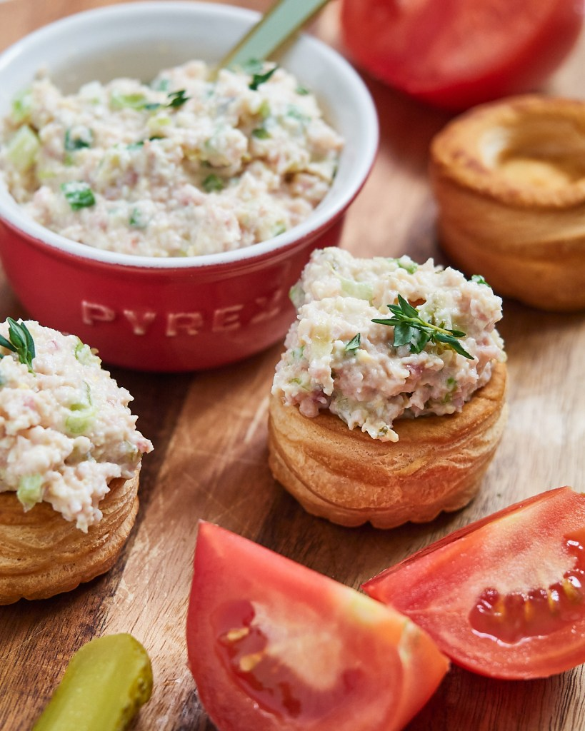 Creamy ham salad recipe