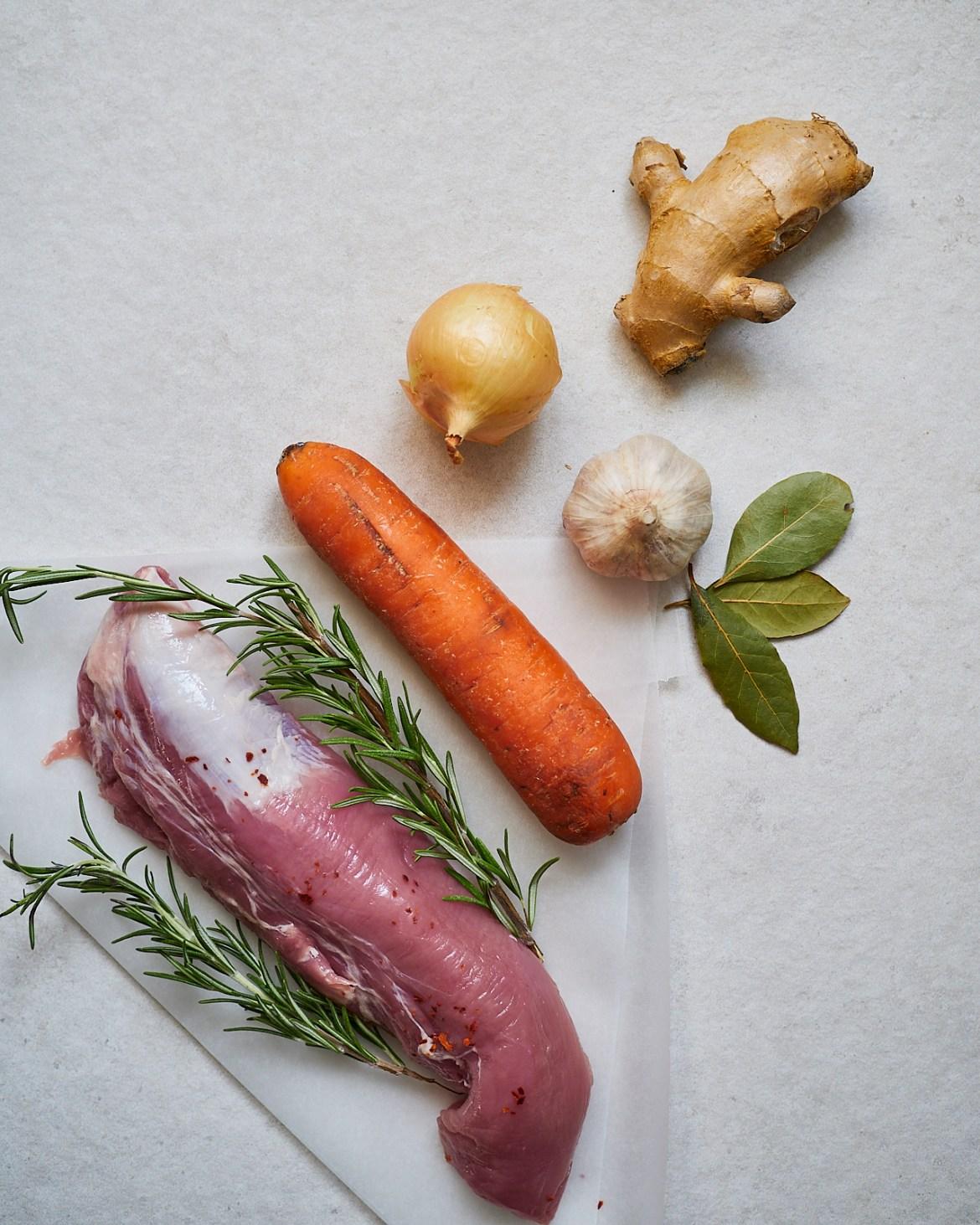 ingredients pulled pork