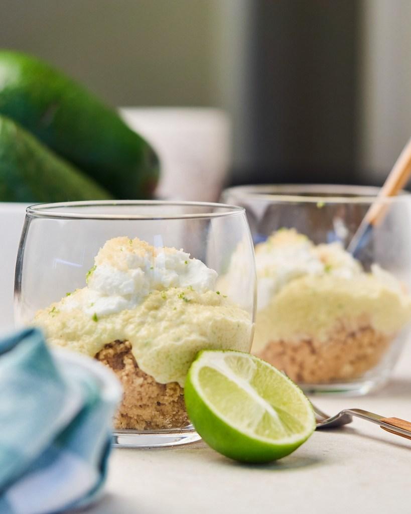 Creamy Avocado Dessert Mousse