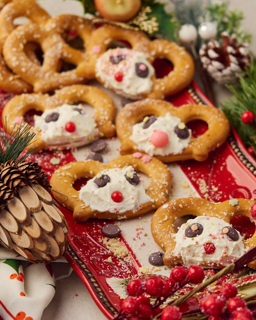 Delicious Plates of Christmas Snacks