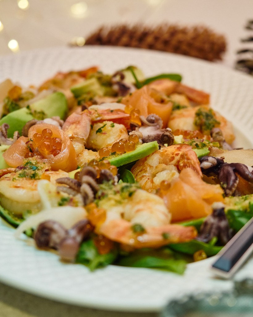 Citrus Seafood Salad with Avocado