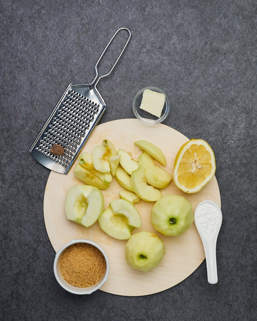 Caramelized and Warm Cinnamon Apples Ingredients