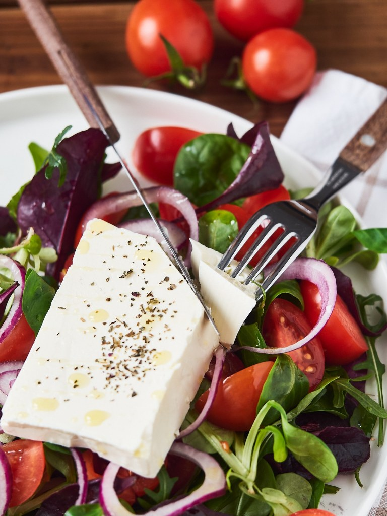 Easy Feta Cheese Salad Recipe