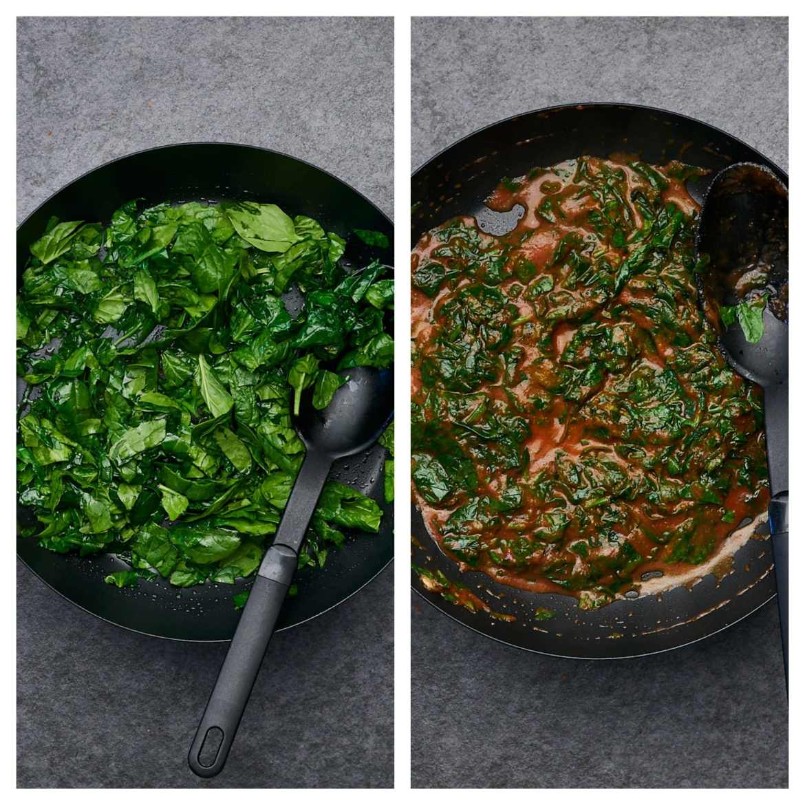 how to saute spinach