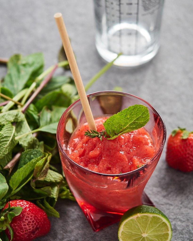 Strawberry Vodka Cocktail Recipe