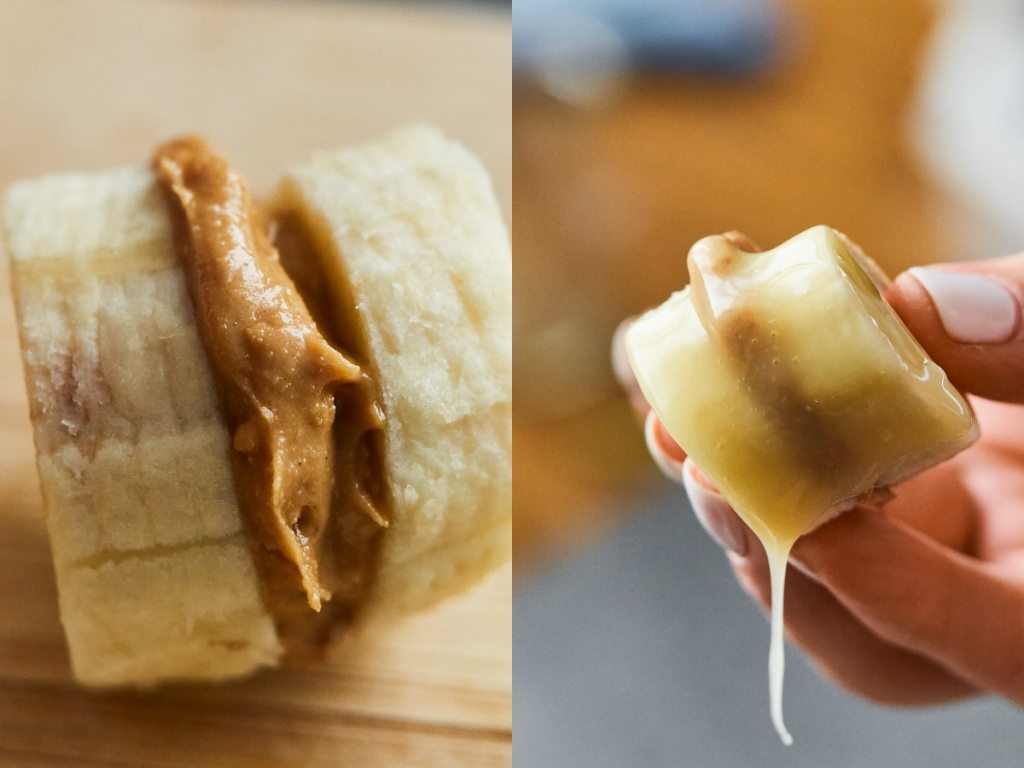 Protein Banana Bites