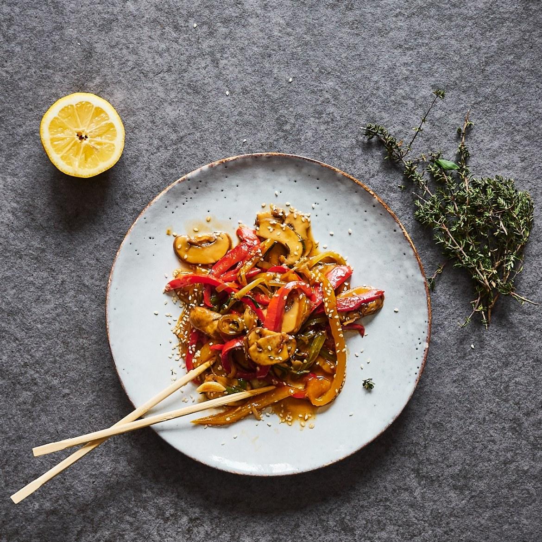 mushroom stor fry recipe