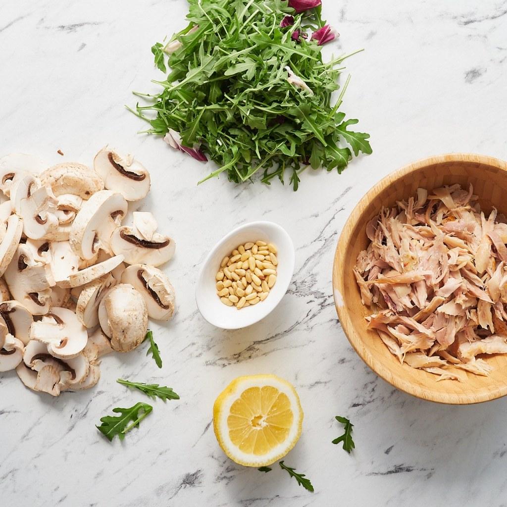 Chicken Mushroom Salad