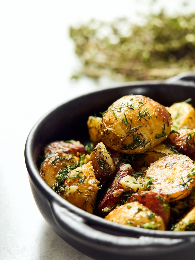 Classic Buttered Dill Potatoes