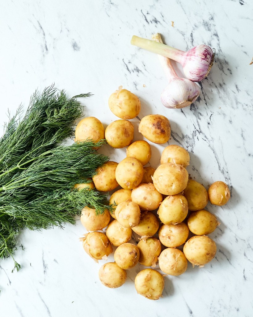 Classic Buttered Dill Potatoes Ingredients