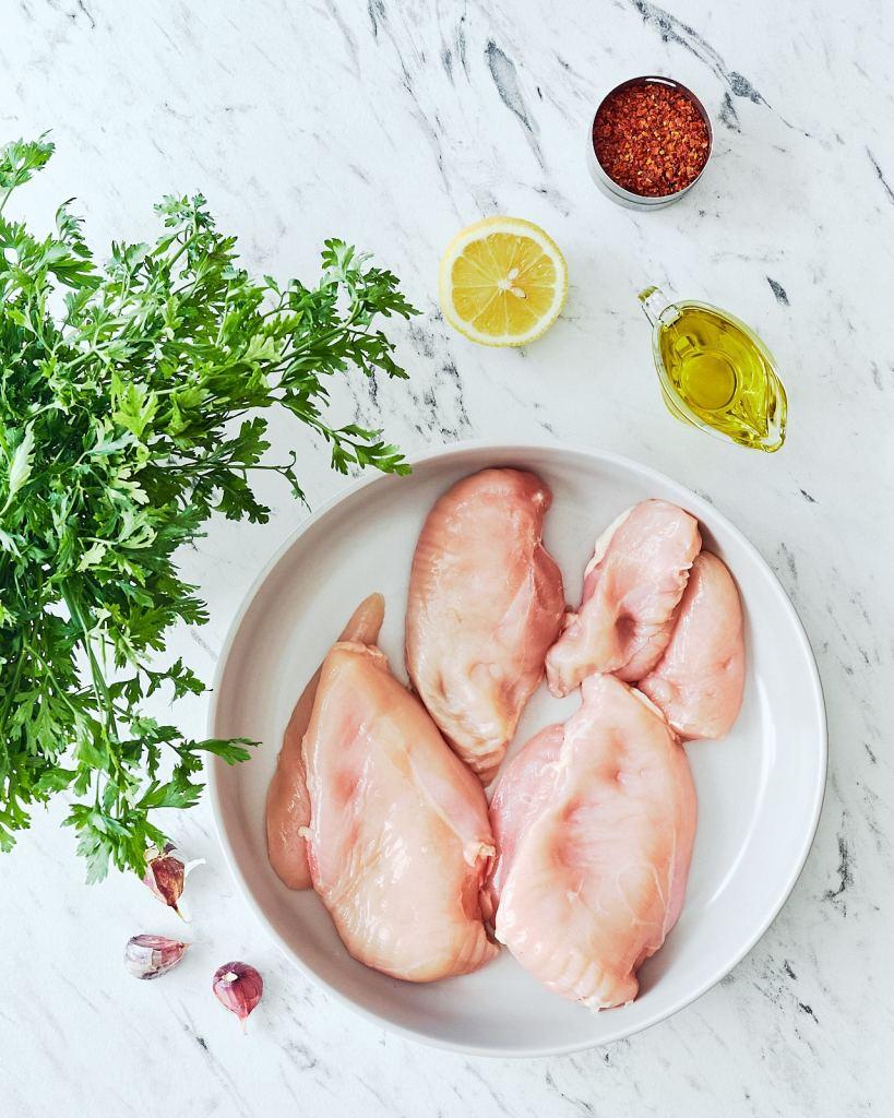 Chimichurri Marinated Chicken Ingredients