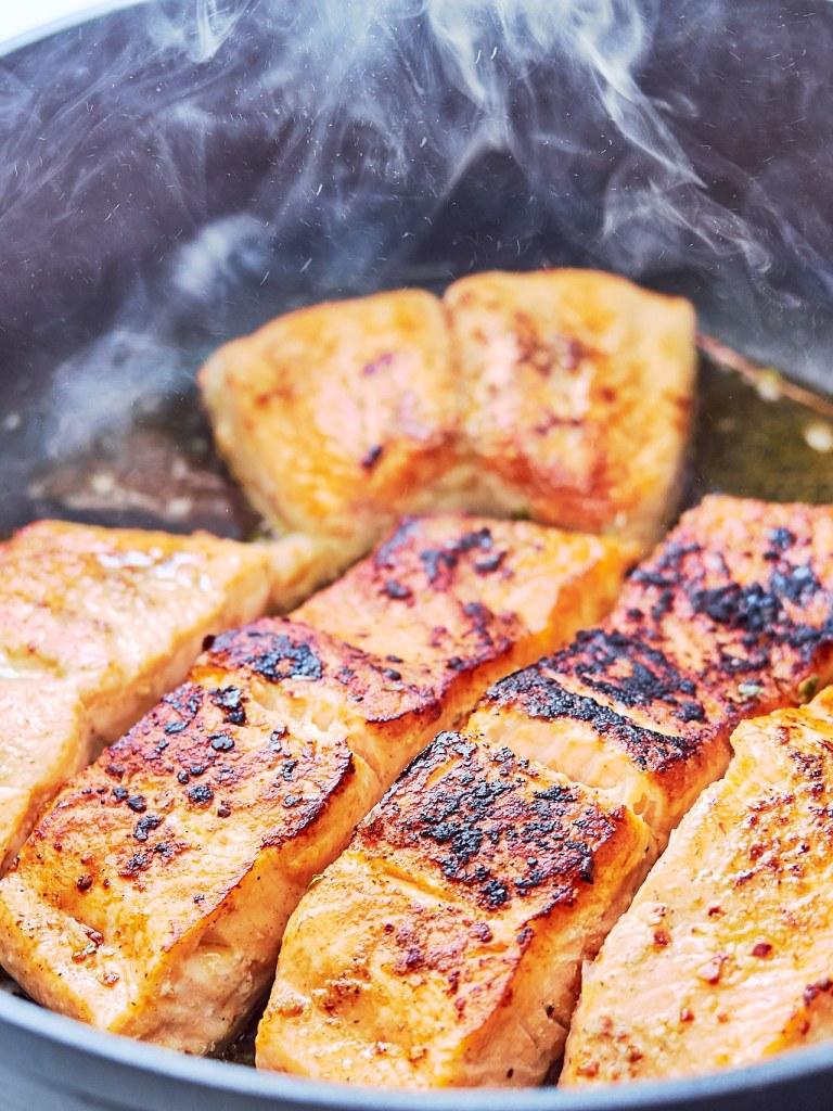 Creamy Garlic Salmon Recipe