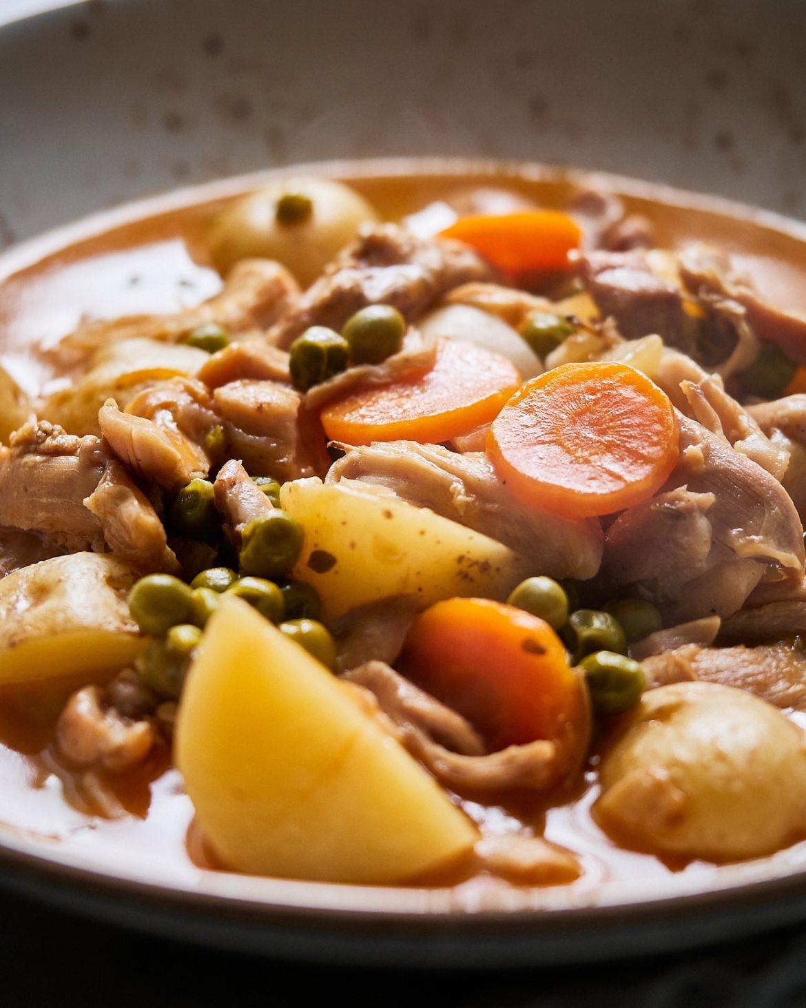 instant pot chicken stew