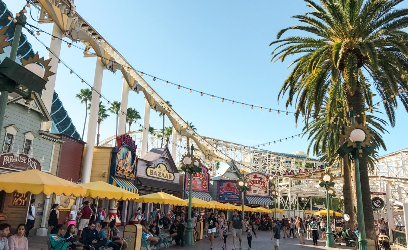 Disneyland, parque da Disney perto de Los Angeles, na California
