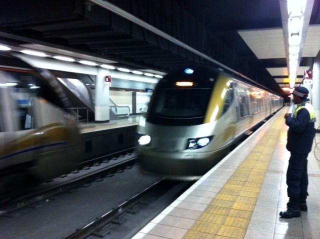 O metrô caretinha de Johannesburgo