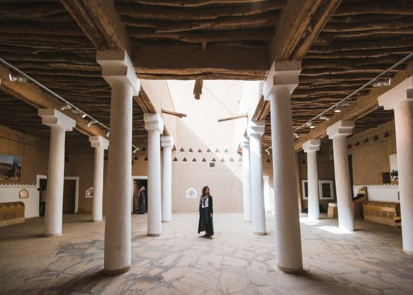 Marmak Fortress, atração historica em Ruade, capital da Arabia Saudita