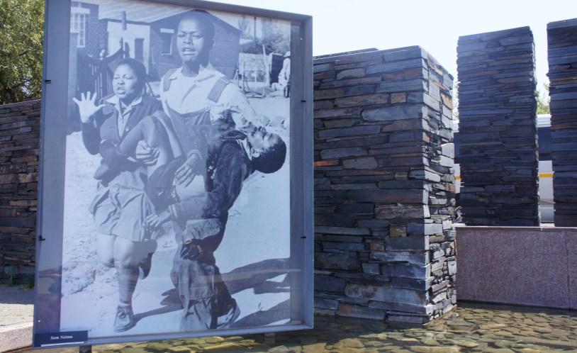 Museu do Apartheid em Johannesburgo, Africa do Sul.