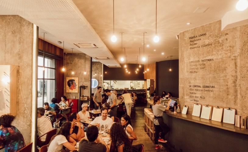 La Central, restaurante mexicano em São Paulo