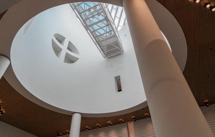 Arquitetura no Museu de Arte Moderna de San Francisco