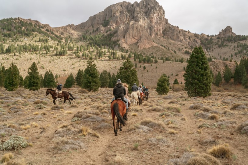 Cavalgada na Patagonia com La Fragua, de Bariloche