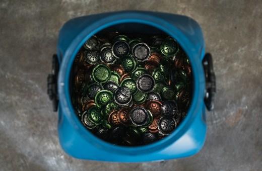 Como funciona a reciclagem de cápsulas da Nespresso