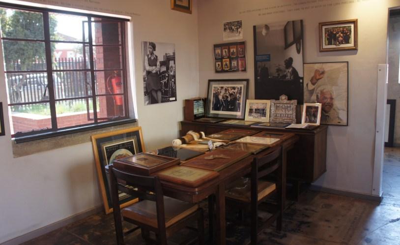 Casa de Mandela em Soweto, Johhanesburgo.