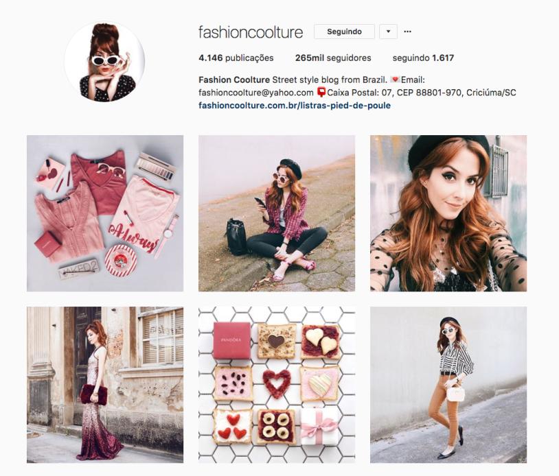 Fashion Coolture e outras mulheres inspiradoras para seguir no instagram