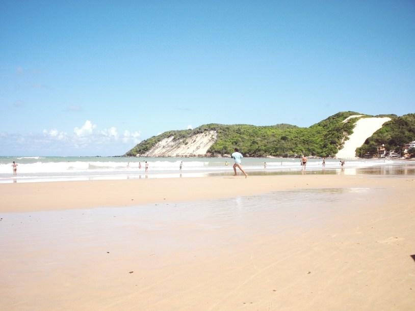 O Morro do Careca, na Praia de Ponta Negra