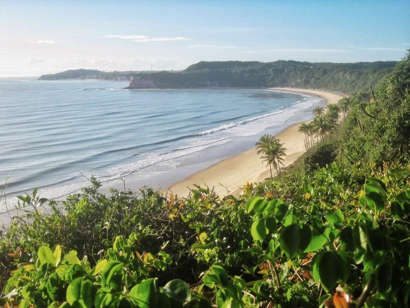 A linda Praia do Madeiro faz parte das praias de Pipa