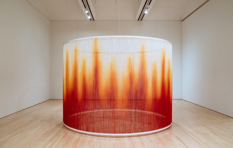 Instalação no SFMOMA - San Francisco Museum of Modern Art