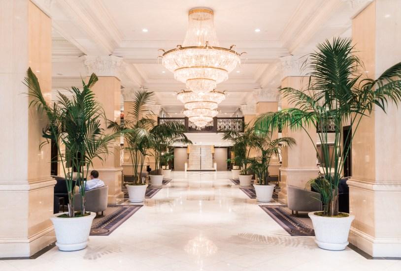Lobby do US Grant em San Diego, California