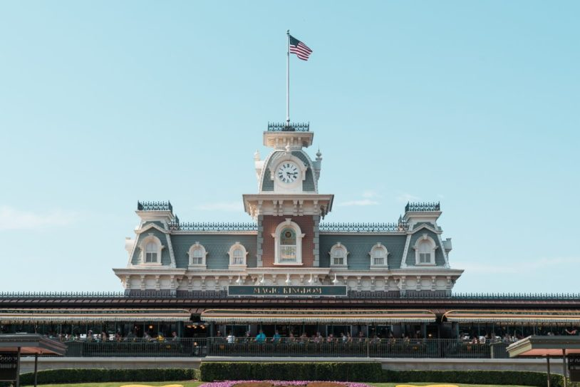 Entrada do Magic Kingdom na Disney