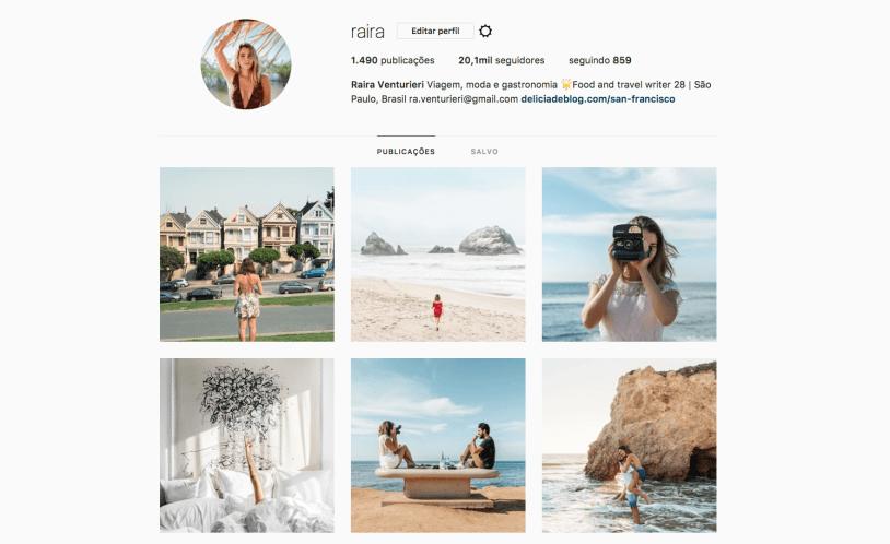 Mulheres pra seguir no Instagram: Raira Venturieri