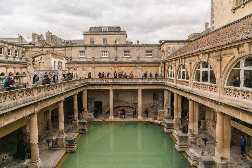 O que fazer em Bath, Inglaterra: as Roman Baths
