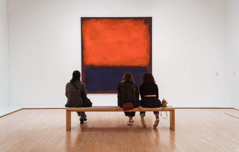 Um dos destaques do Museu de Arte Moderna de San Francisco: Mark Rothko