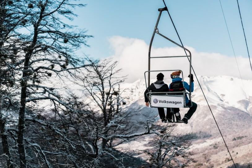 Um dos telefericos de Cerro Bayo, estação de esqui em Villa la Angostura