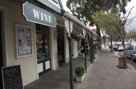 Série África do Sul: vinícolas