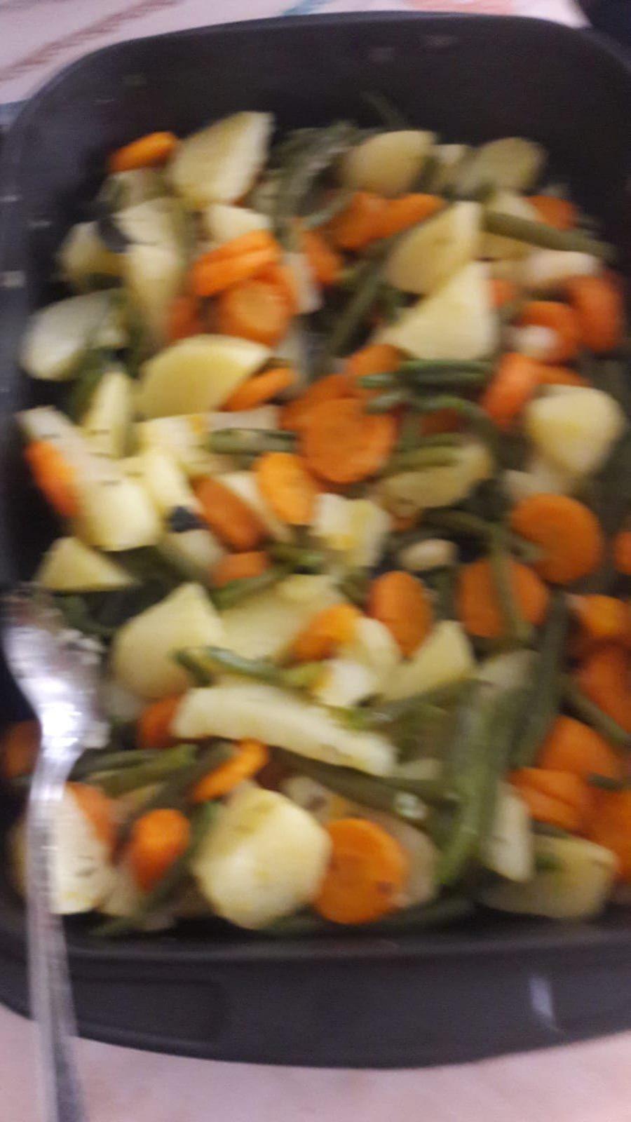 Ensalada de Vegetales Cocidos