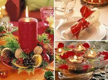 Decoração para a noite de Natal