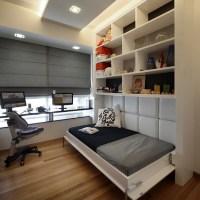 Camas que economizam espaço